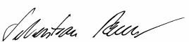 Unterschrift Remele